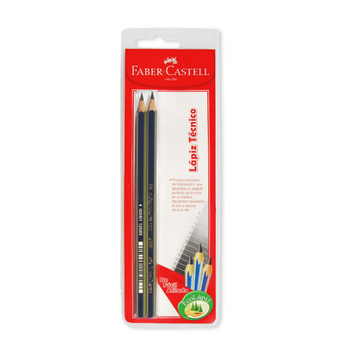 Faber-Castell, Lápiz Técnico Grafito 4B Display