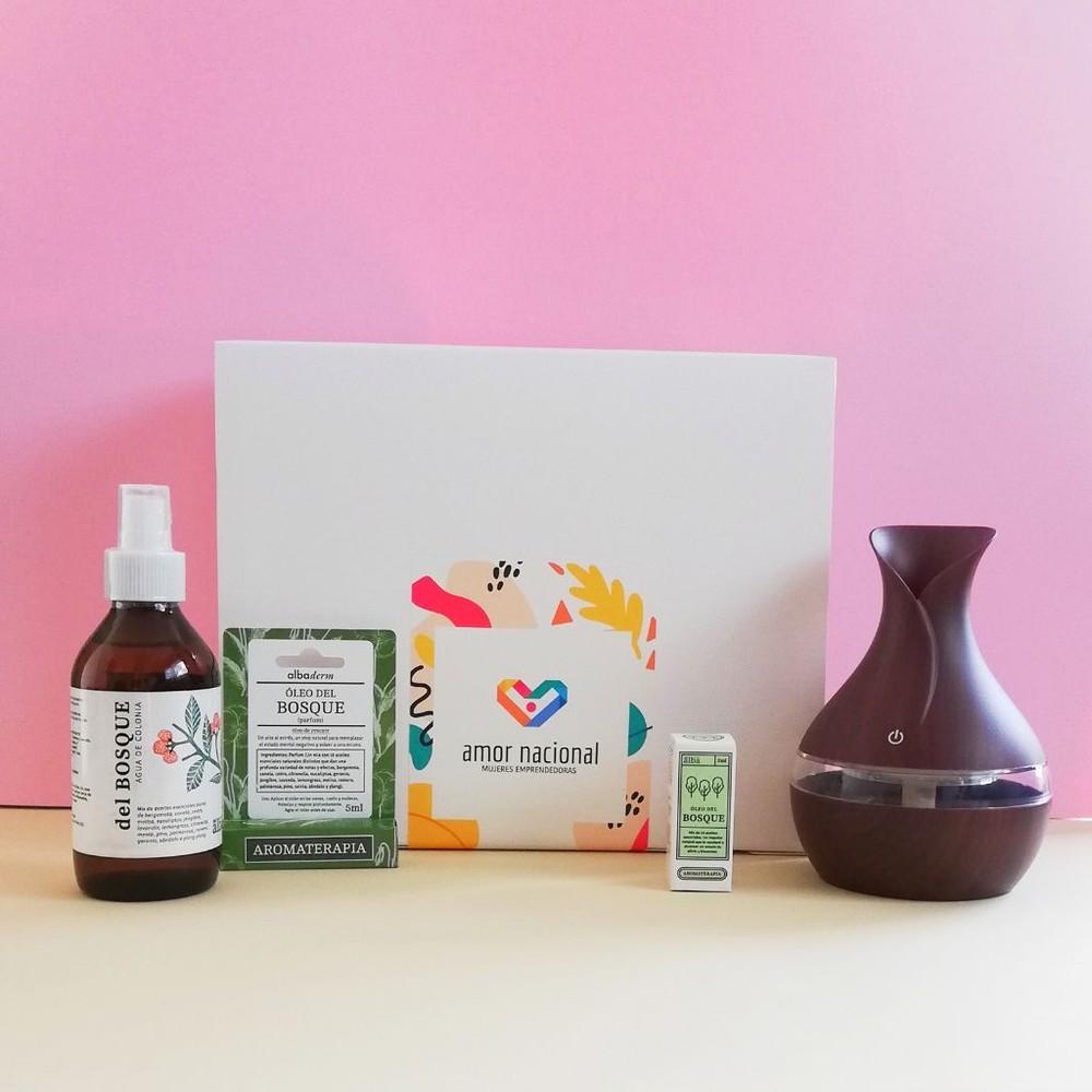 Gift box aromaterapia Caja