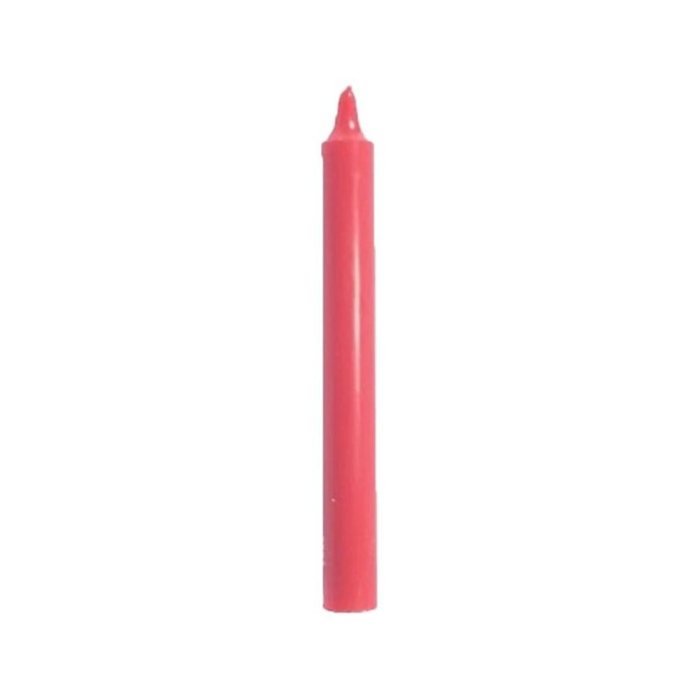 Vela roja 17 cm