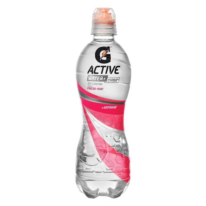 Bebida Isotonica Active Water sabor fresa-kiwi