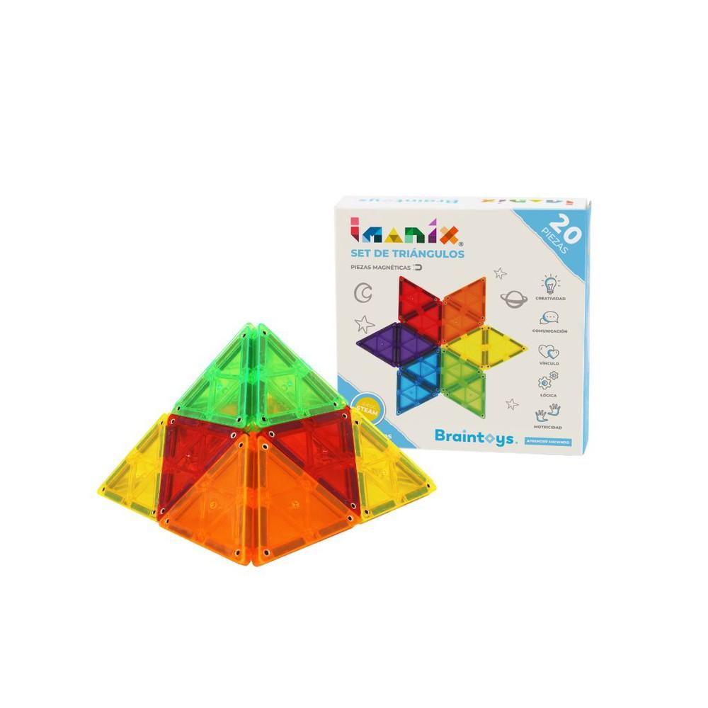 Imanix triángulos 20 piezas