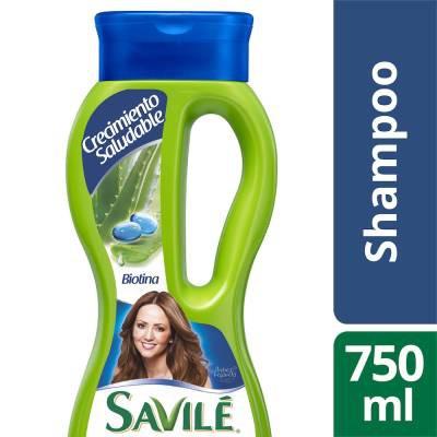 Shampoo pulpa de sábila y biotina