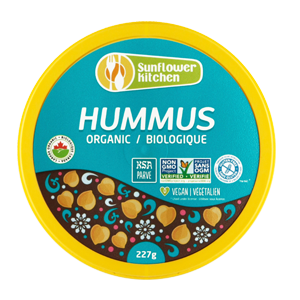 Organic hummus 227 g