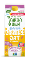 So fresh oat unsweetened original 1.75 LT