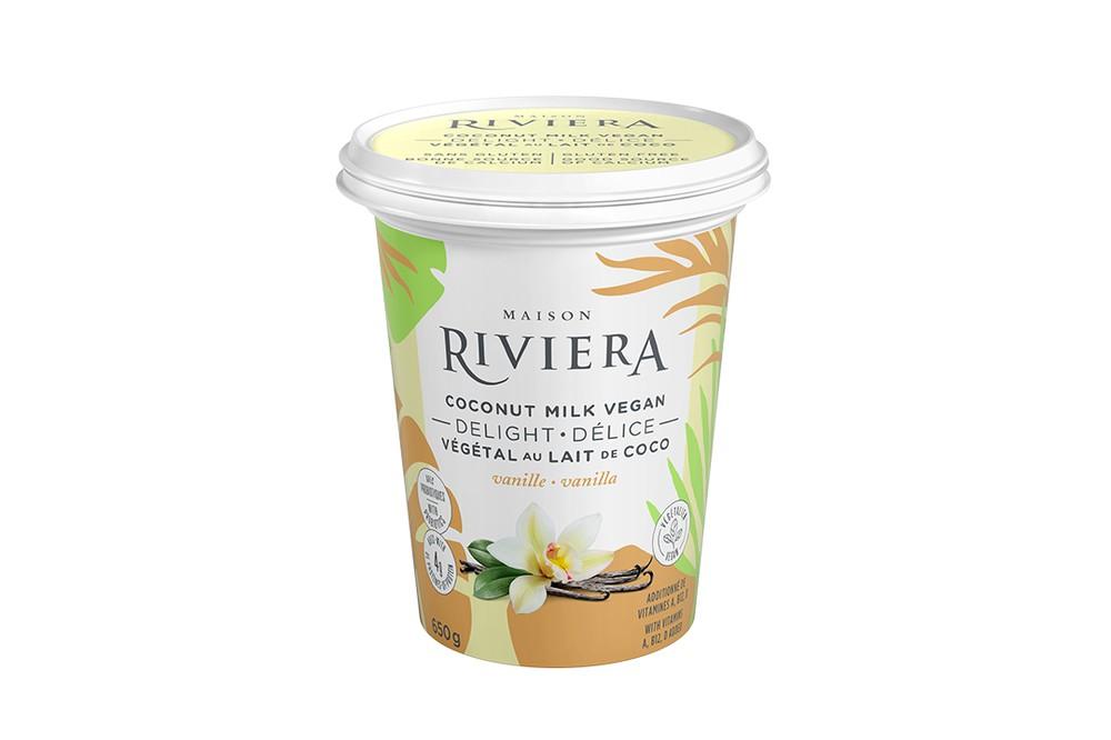 Vanilla coconut milk yogurt 650 g