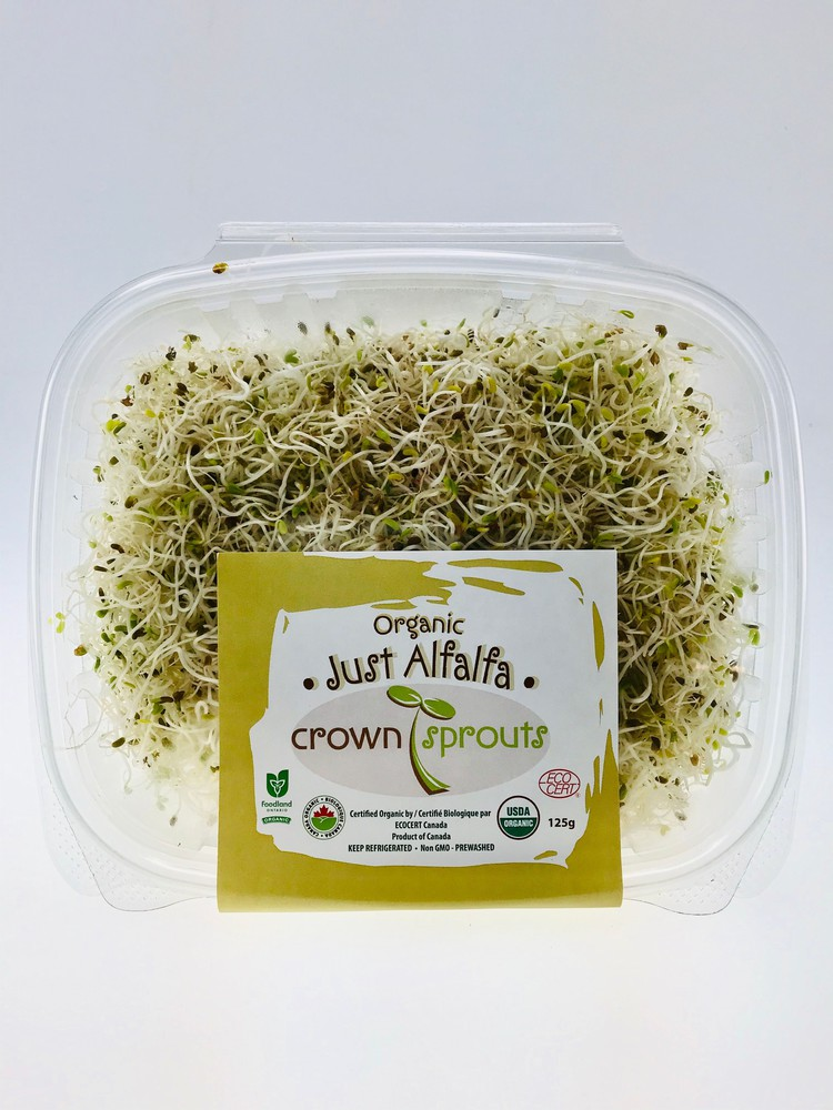 Crown sprouts organic just alfalfa 1 Pc