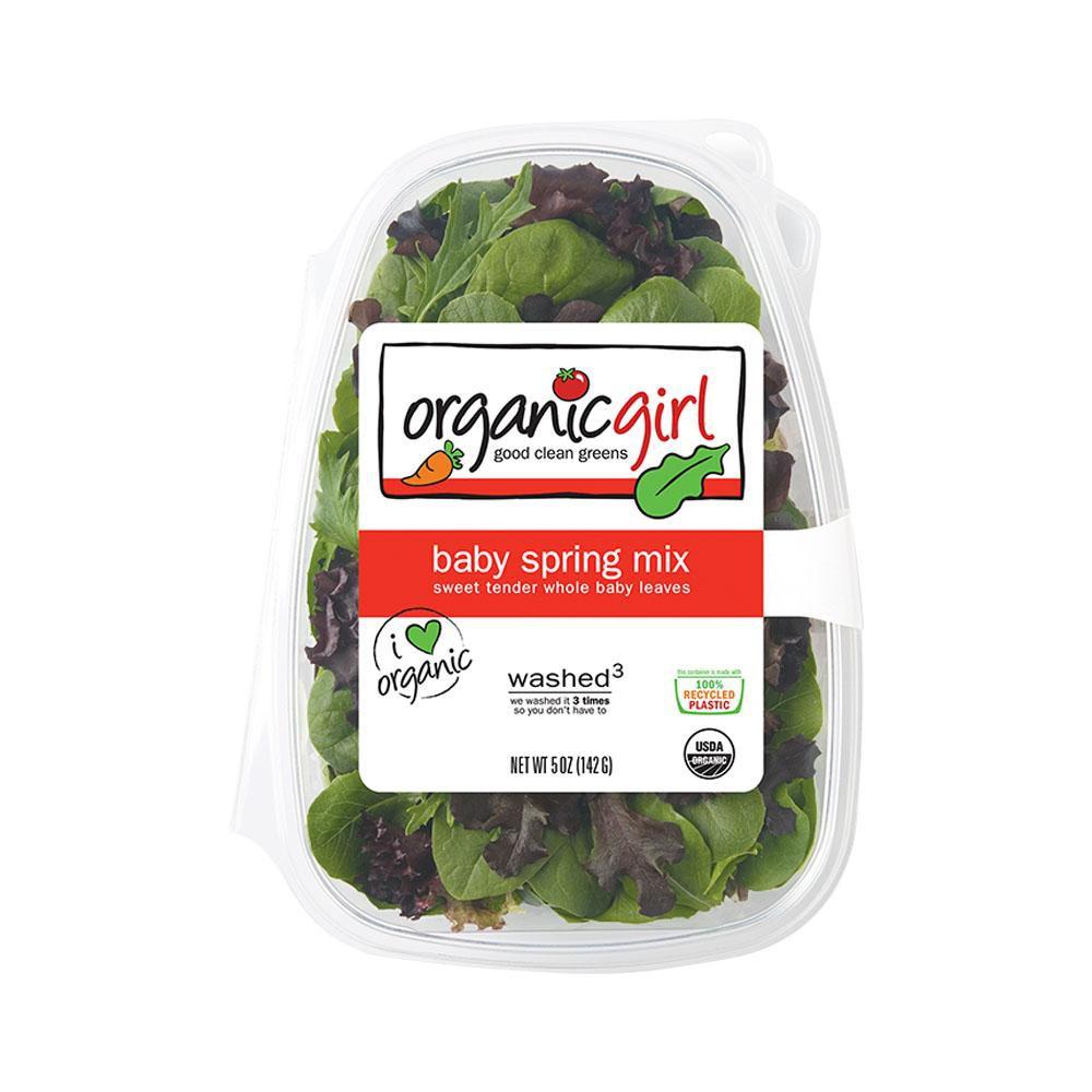 Organic girl baby spring mix 5 oz