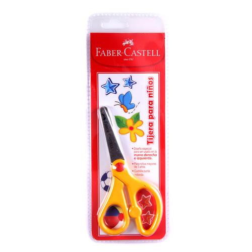 Faber-Castell, Tijera Escolar 16.5 cm