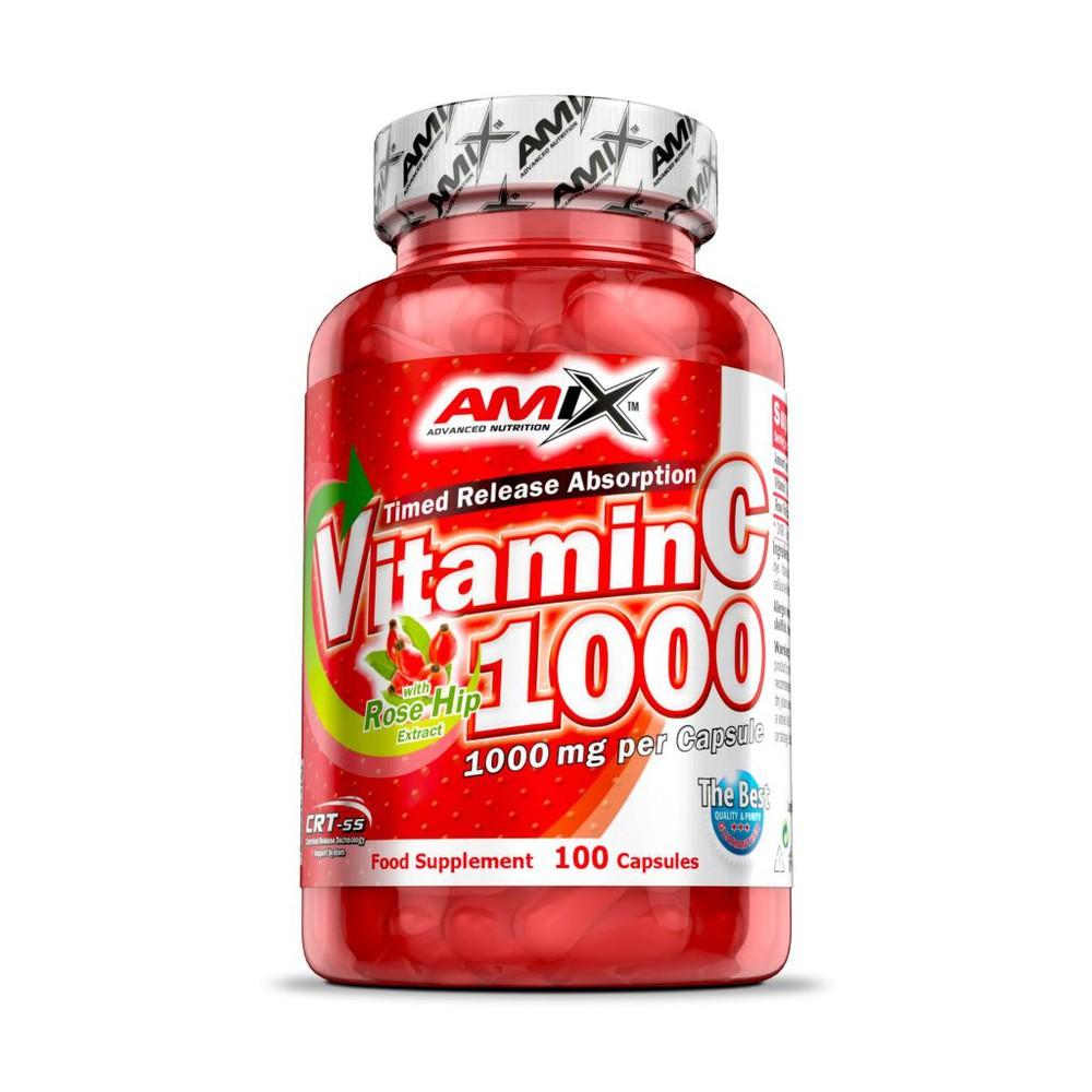 Vitamina c 1000 mg Frasco de 100 capsulas