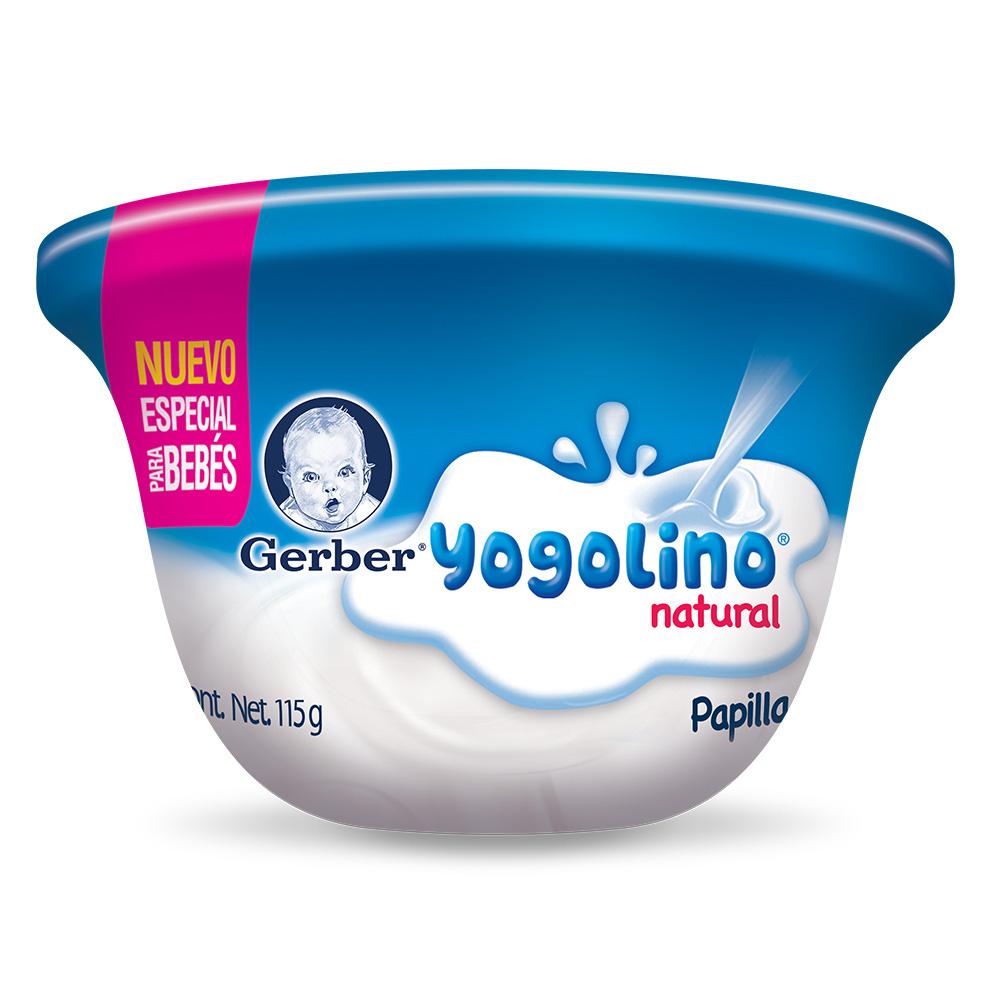 Papilla para bebé yogolino natural
