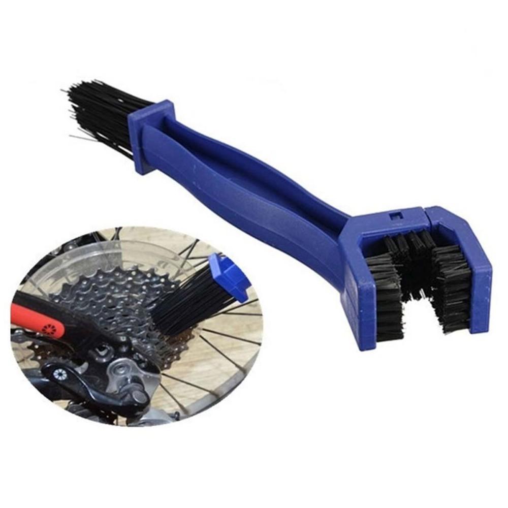Cepillo de limpieza de transmisión: cadena y piñon 4 en 1