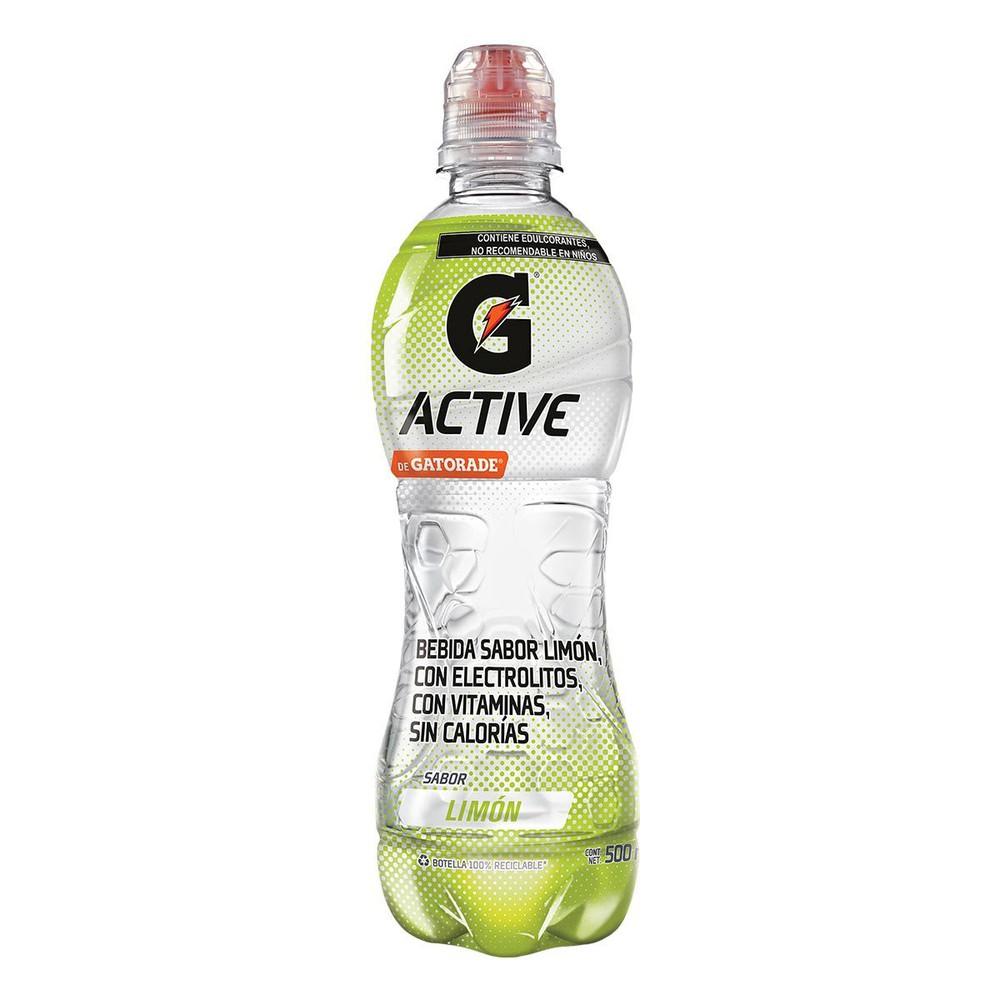 Bebida Isotónica active water limón