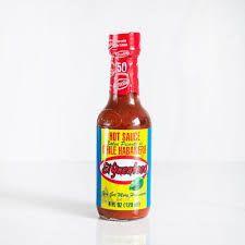 Salsa habanero roja Frasco 120ml