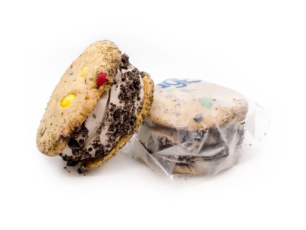 The cookie monster Ice Cream Sandwich 4 ice Cream Sandwich