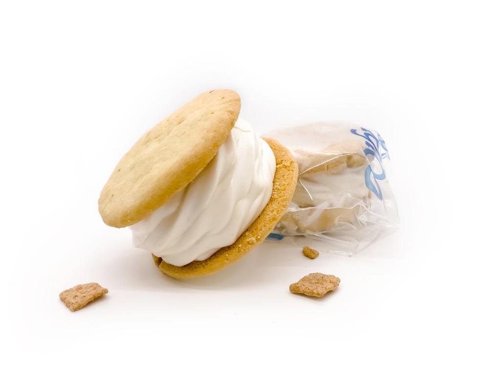 The cinnamon toast special Ice Cream Sandwich 4 Ice Cream Sandwich