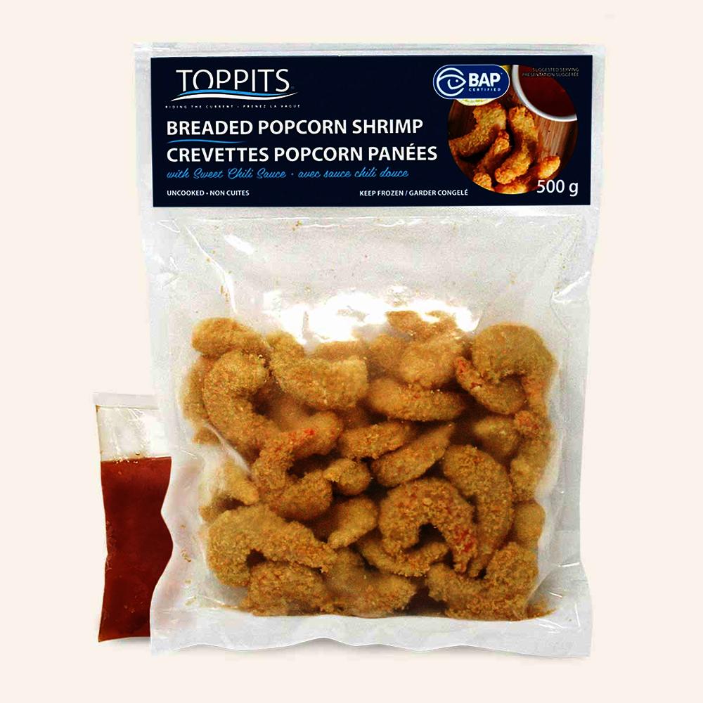 Frzn Popcorn Shrimp W Sauce