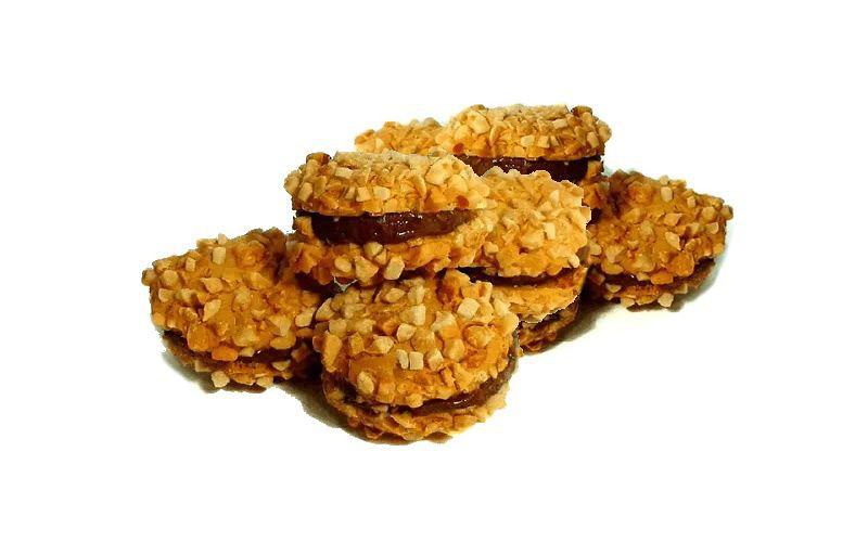 Biscoito de amendoim c/ creme de avelã Granel
