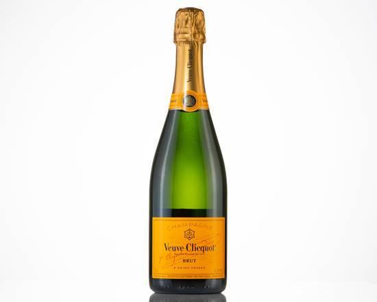 Brut yellow label, champagne (12.0% abv) 750 ML