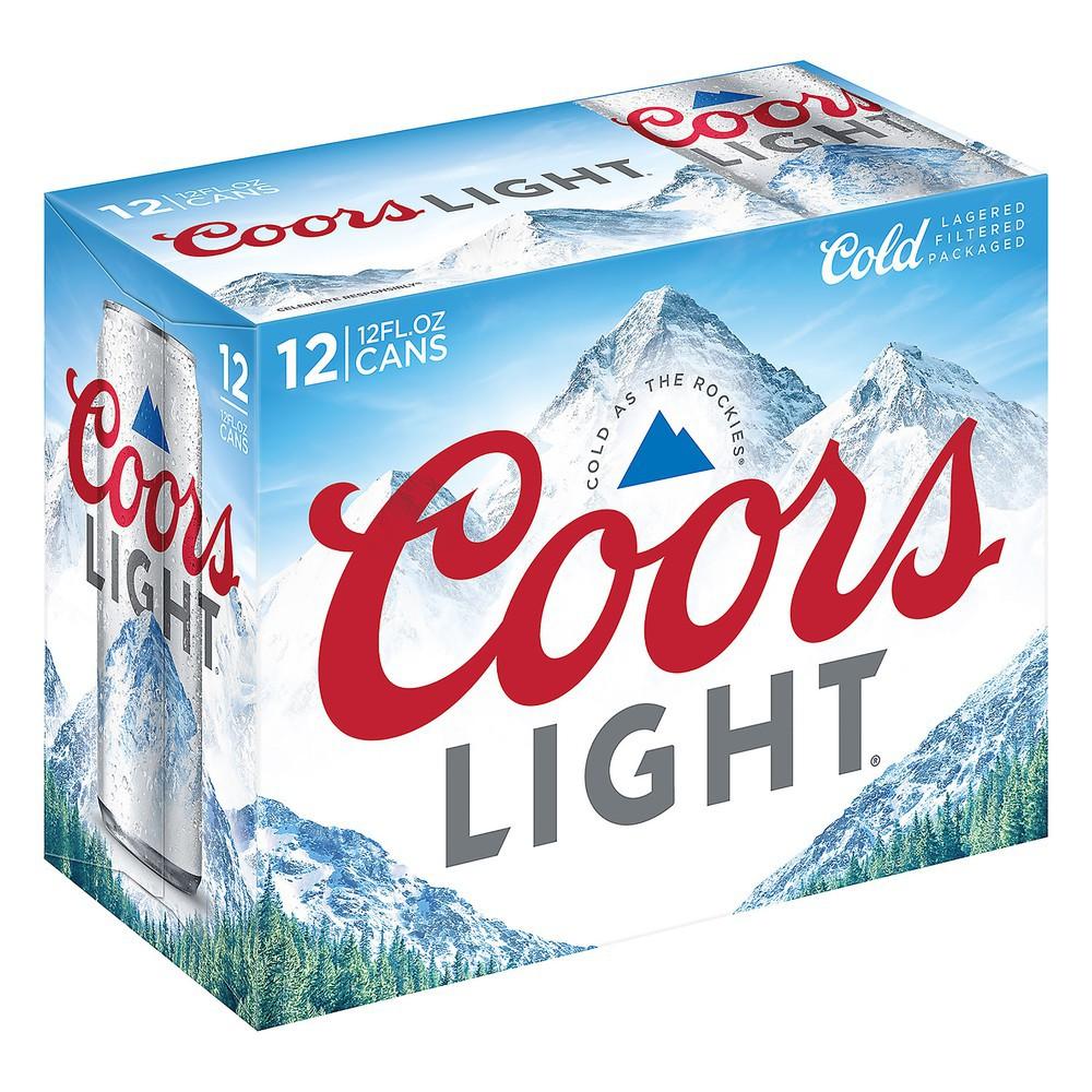 Light, bottle beer (4.2% abv) 12X12 OZ