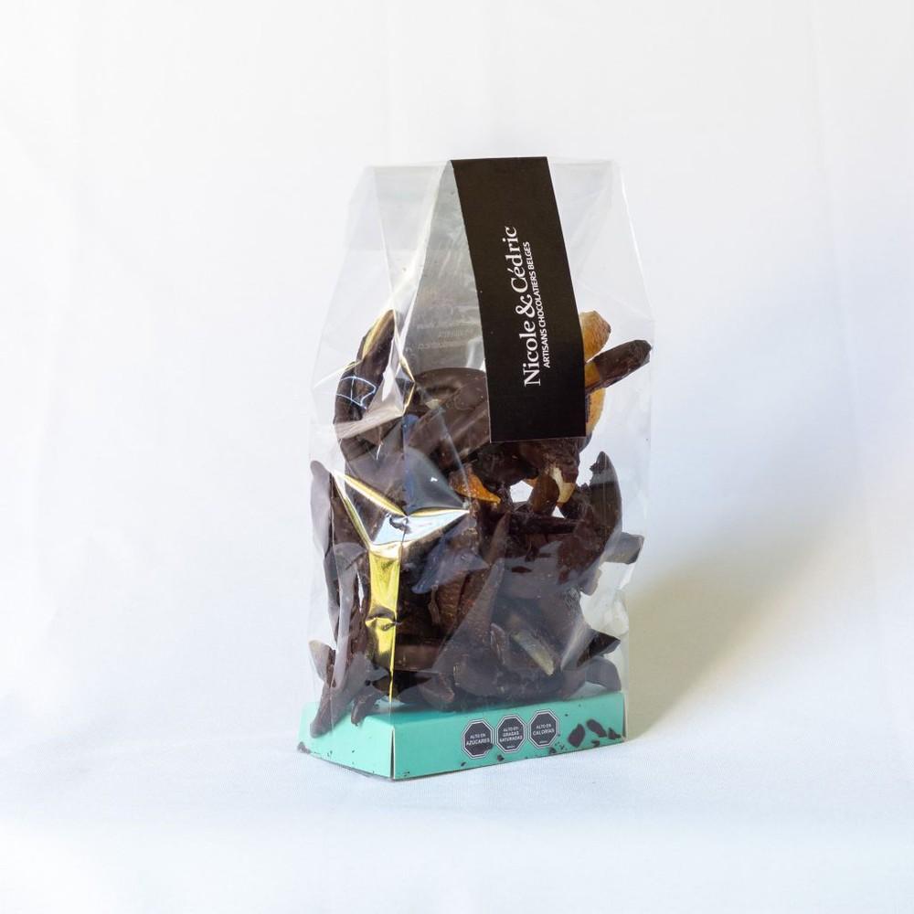 Naranjitas confitadas bañadas en chocolate bitter Bolsita 250 gr