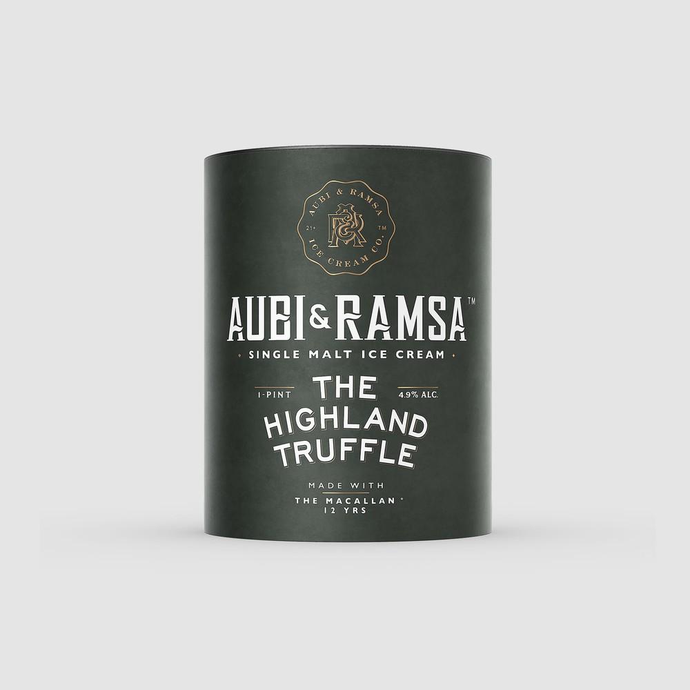 Highland truffle 16 oz Pint 16 oz