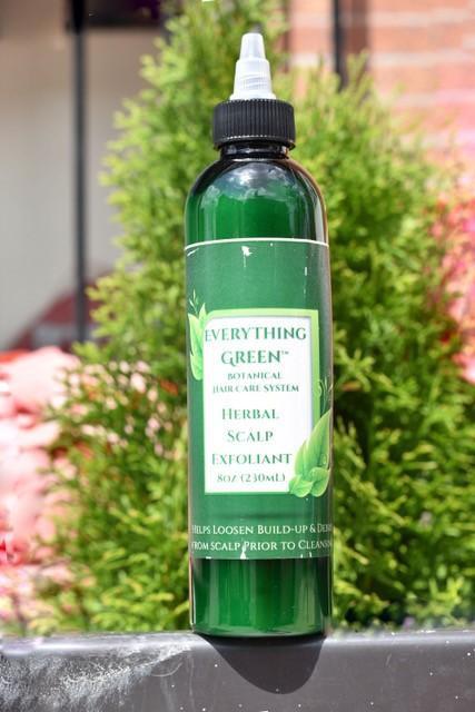 Herbal scalp exfoliant 8 OZ