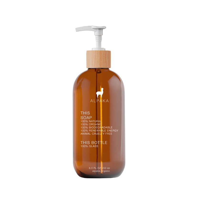 Jabón líquido organic glass Botella 250ml