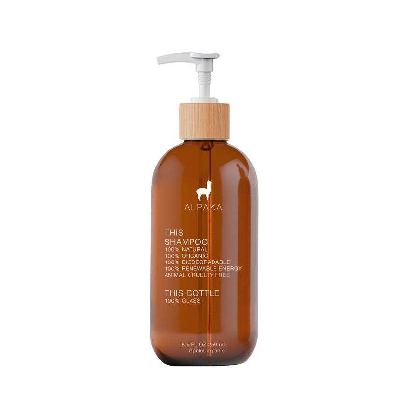 Shampoo organic glass 250 ml