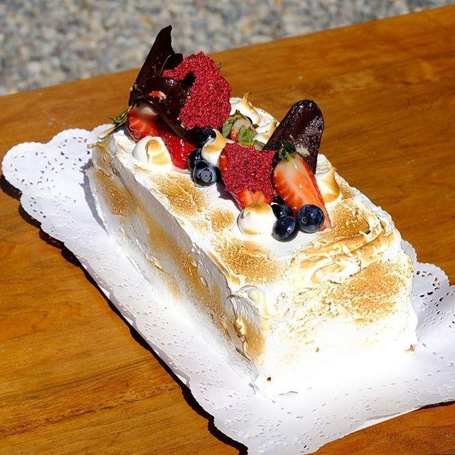 Torta de alfajor manjar 8 porciones