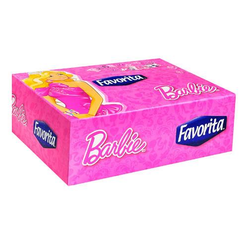 Pañuelos desechables doble hoja Barbie