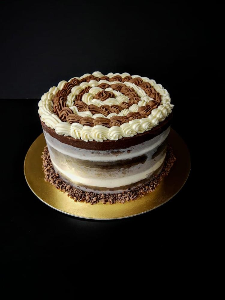 Torta trilogía de chocolate 12-15