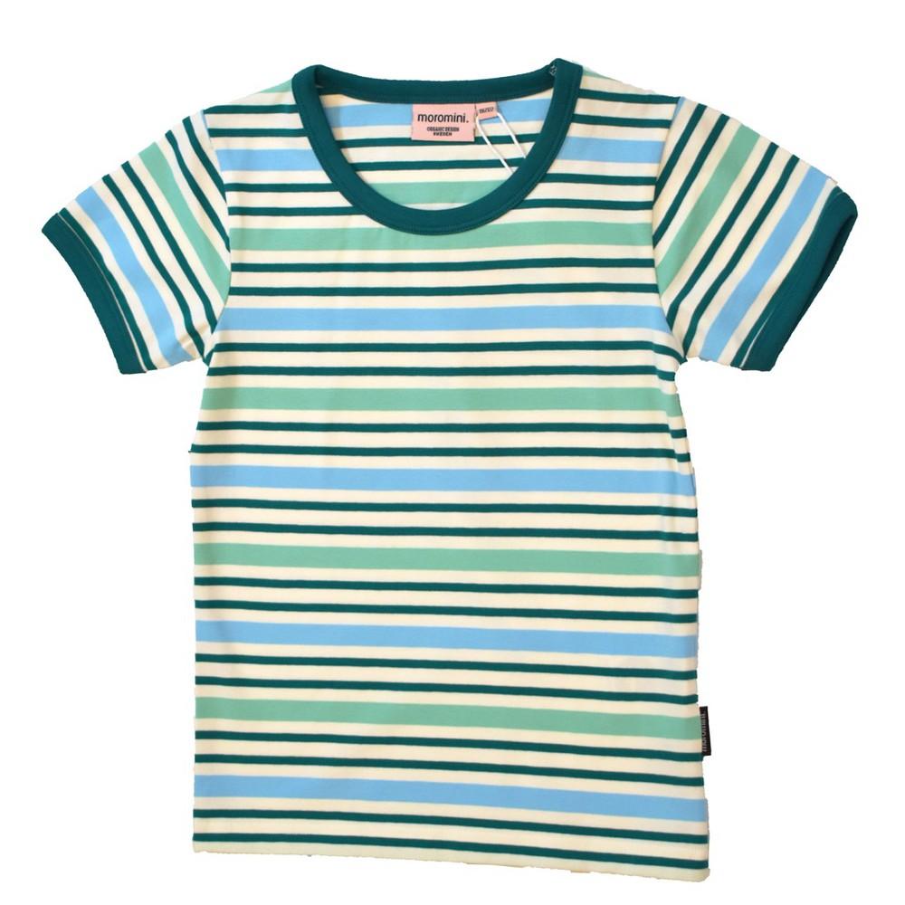 Polera m/c - moromini - green stripes