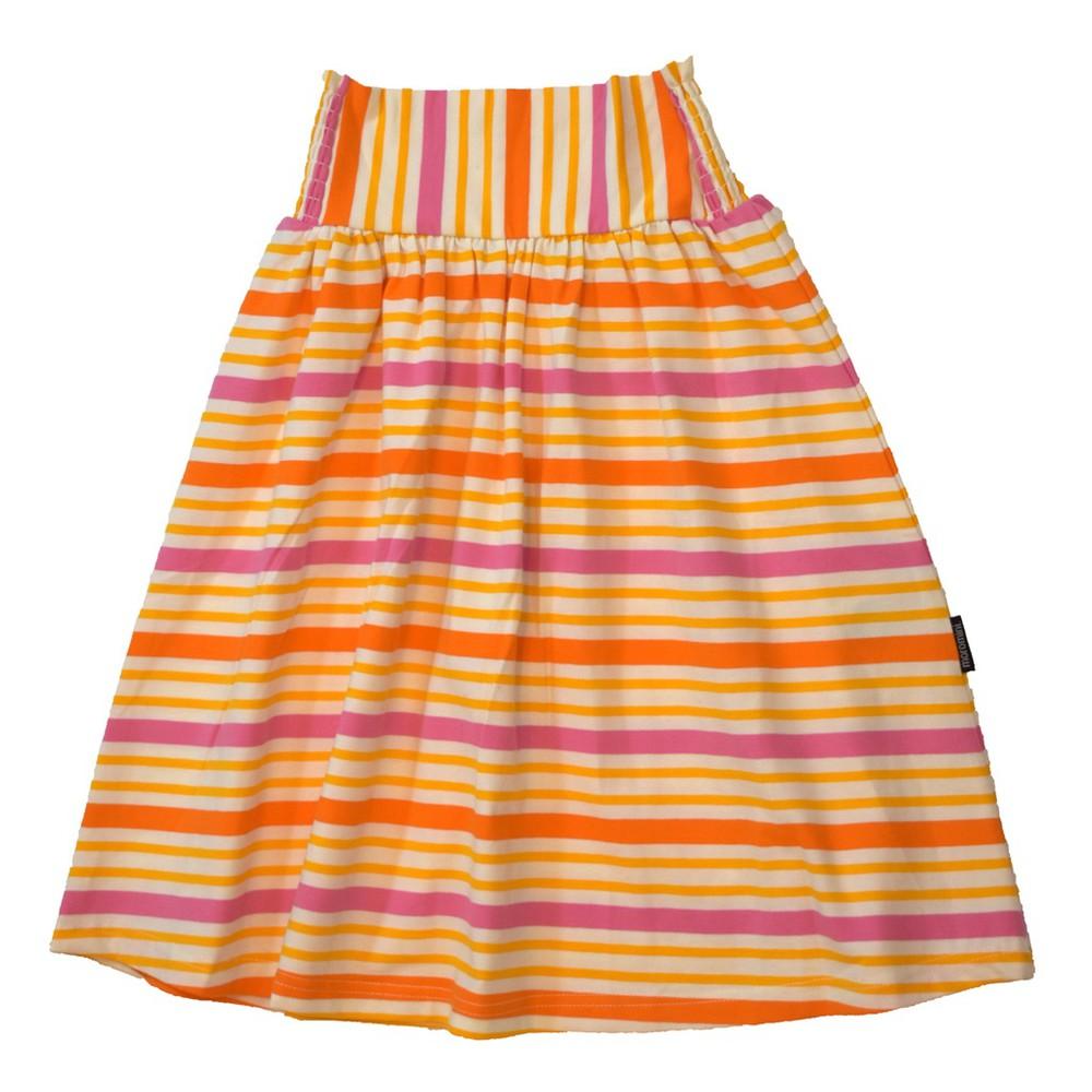 Falda - moromini - orange stripes