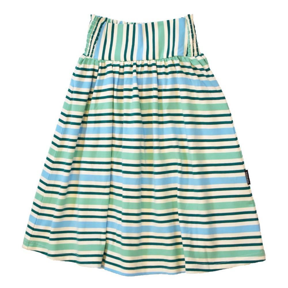 Falda - moromini - green stripes