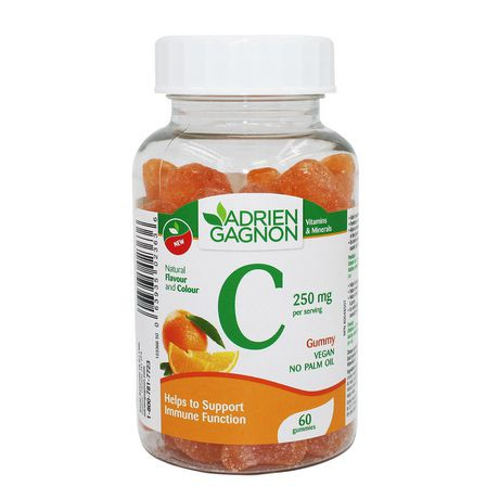 Gummy vegan vitamin C 250 mg