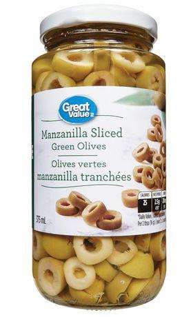 Manzanilla Sliced Green Olives
