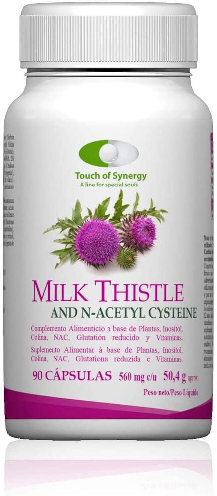 Cardo mariano - milk thistle 90 cápsulas (560 mg)