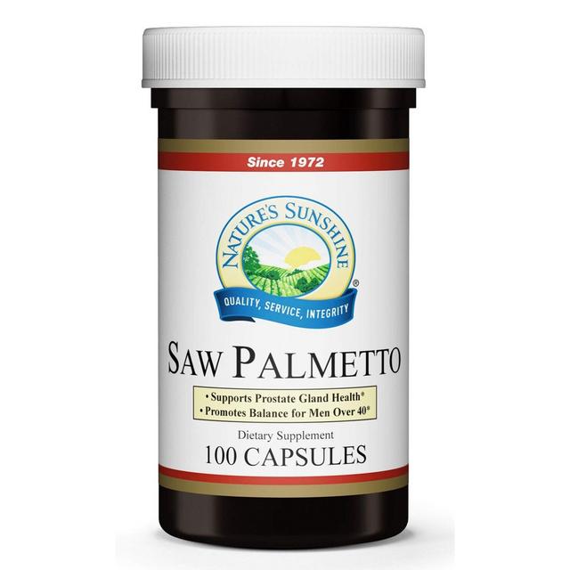 Saw palmetto 100 cápsulas
