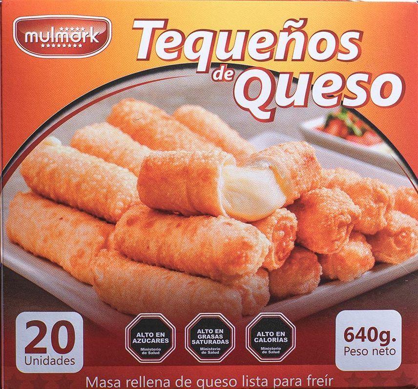 Tequeños de queso 640g