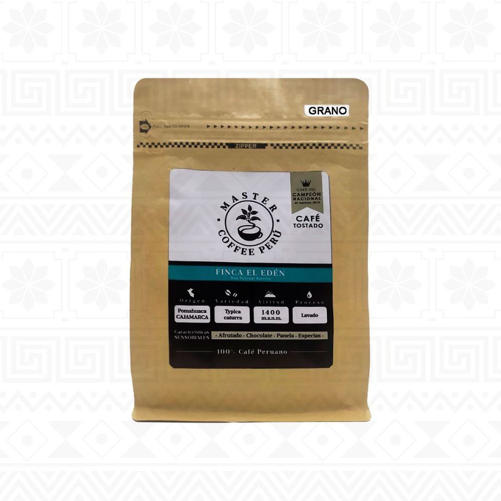 Café en grano tostado finca edén 250 g