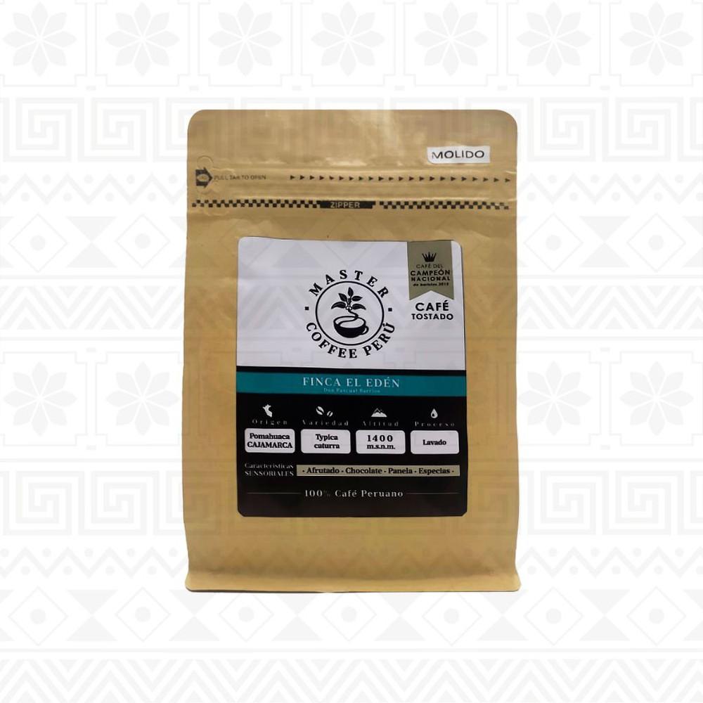 Café molido tostado finca edén 250 g