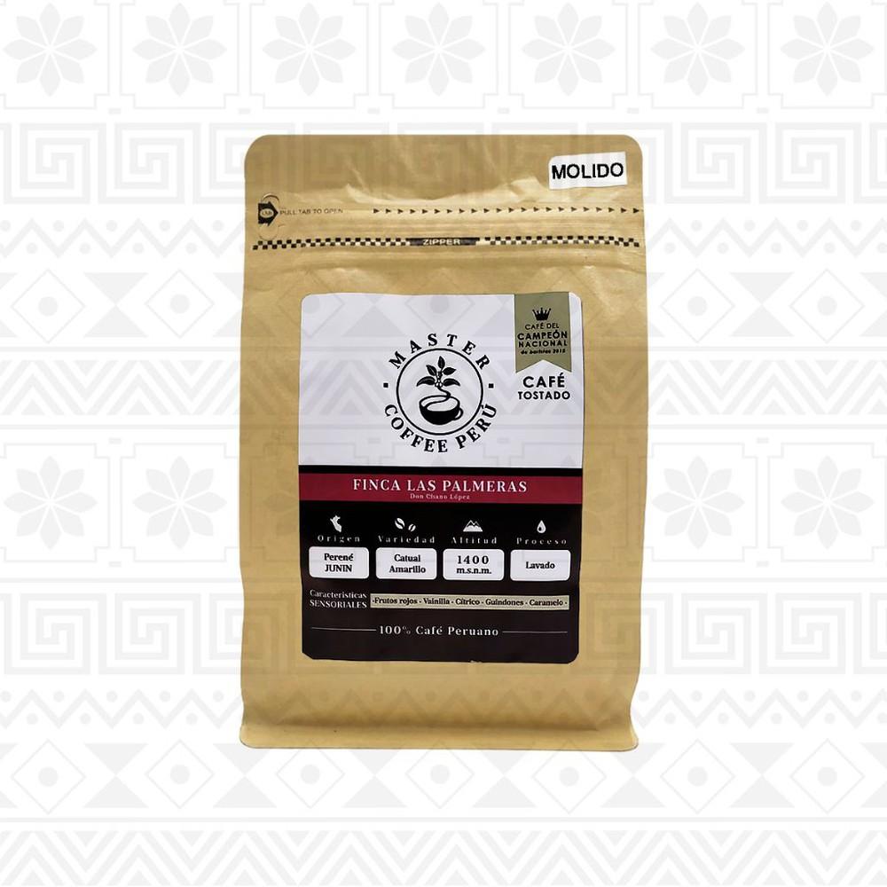 Café molido tostado finca las palmeras 250 g