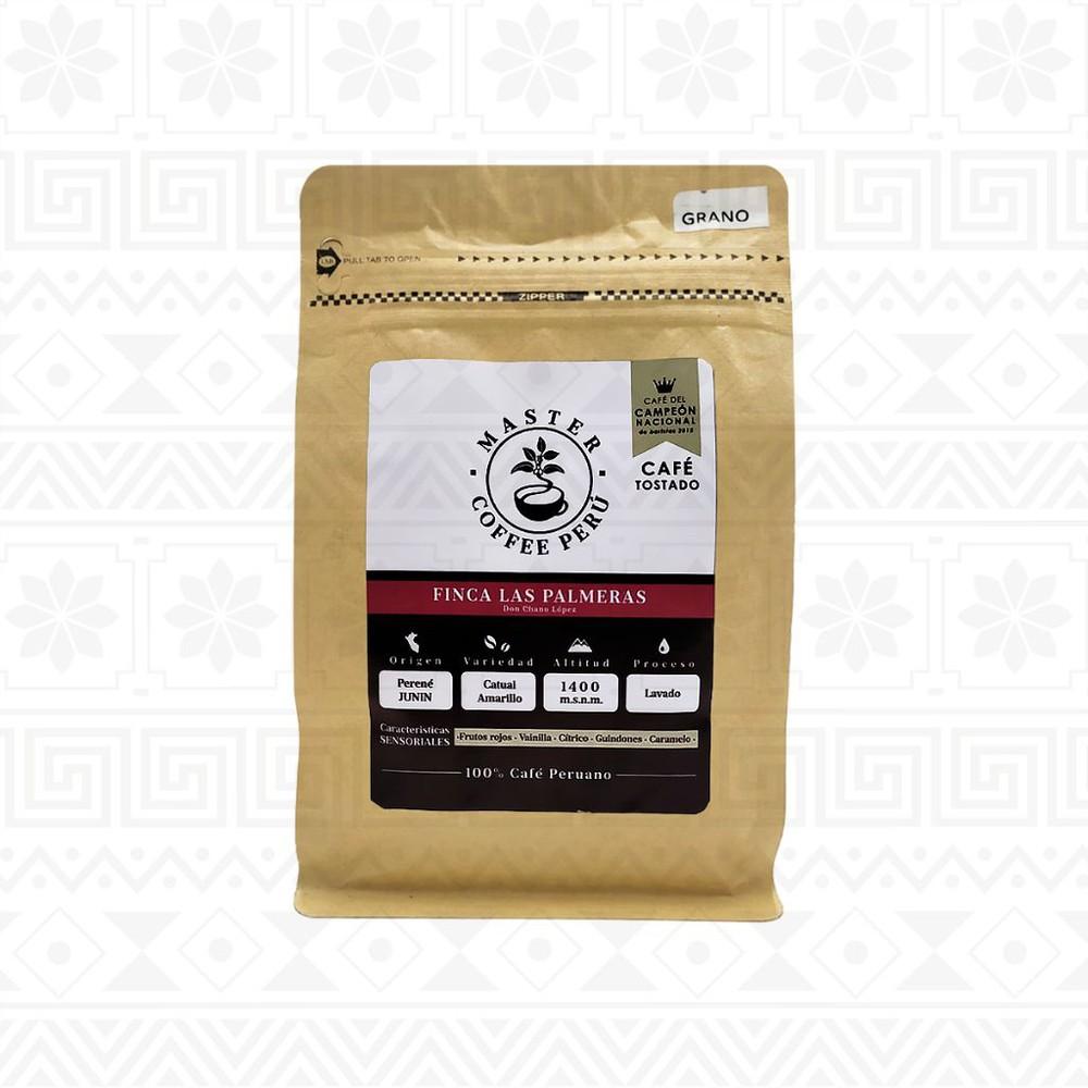 Café en grano tostado finca las palmeras 250 g