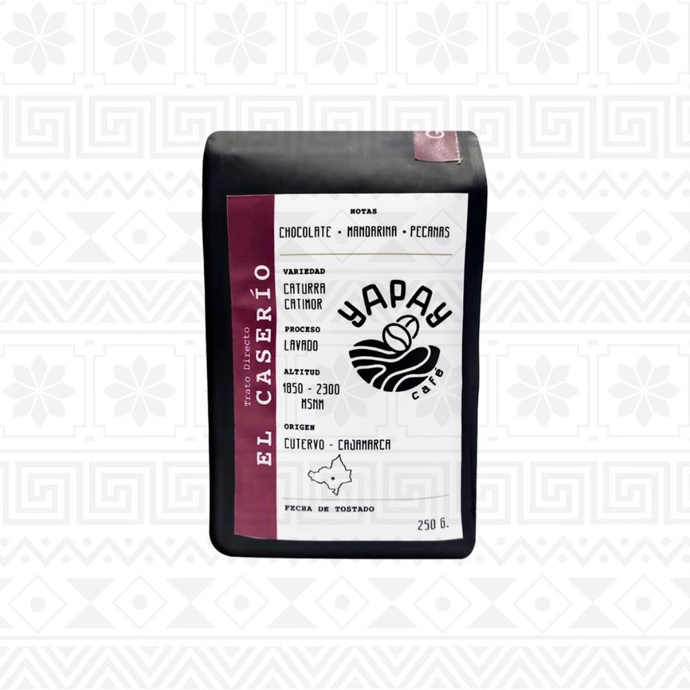 Café en grano tostado 250 g