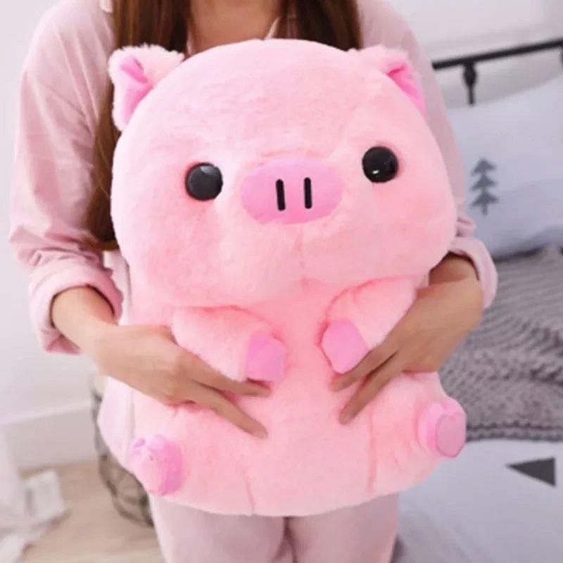 Peluche cerdo gigante