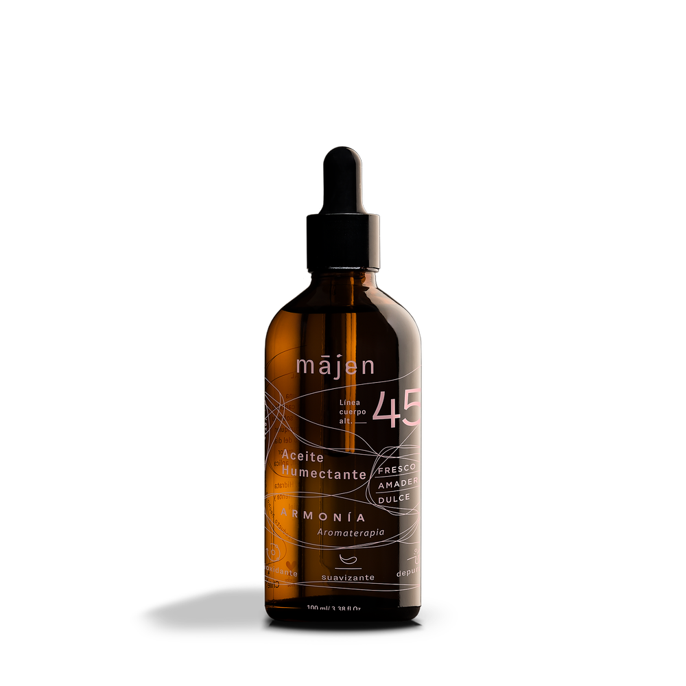 Aceite humectante cuerpo armonia - maqui Envase de vidrio 100 ml