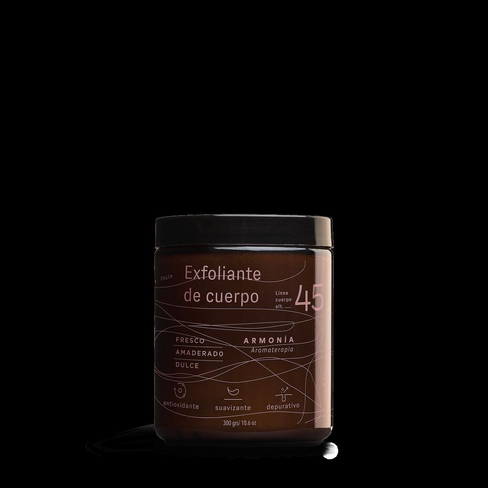 Exfoliante de cuerpo armonia - maqui Envase de vidrio 300 gr