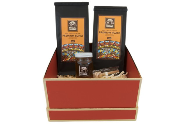 Royal delux coffee box ( two premium roast  coffees)