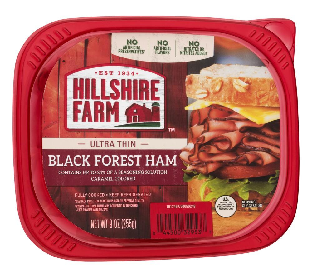 Black Forest Ham Ultra Thin Hillshire Farm 9 Oz Delivery Cornershop