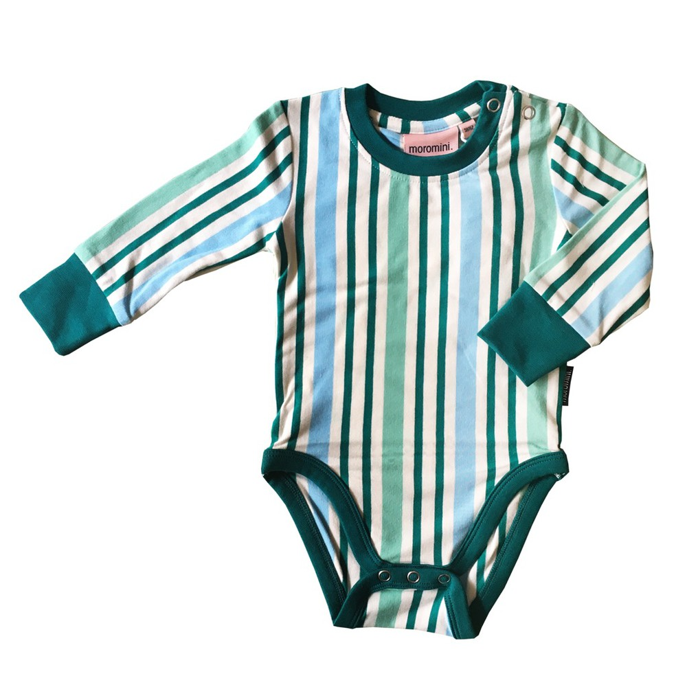 Body - moromini - green stripes